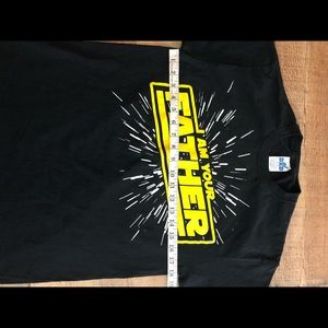 #1 DAD Shirts - VINTAGE BLACK STAR WARS T SHIRT I AM YOUR FATHER